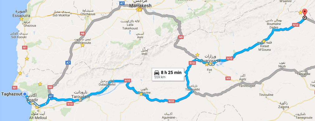 roadtrip velkým atlasem Maroko