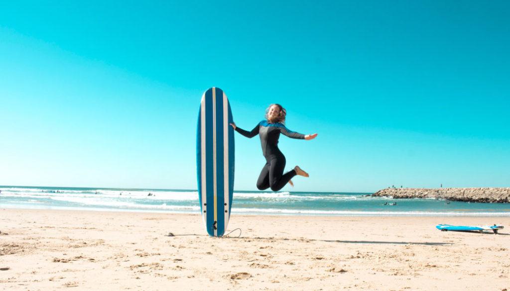 kam lisabon Portugalsko Costa de Caparica Cabo da Roca Sintra Cascais Surf