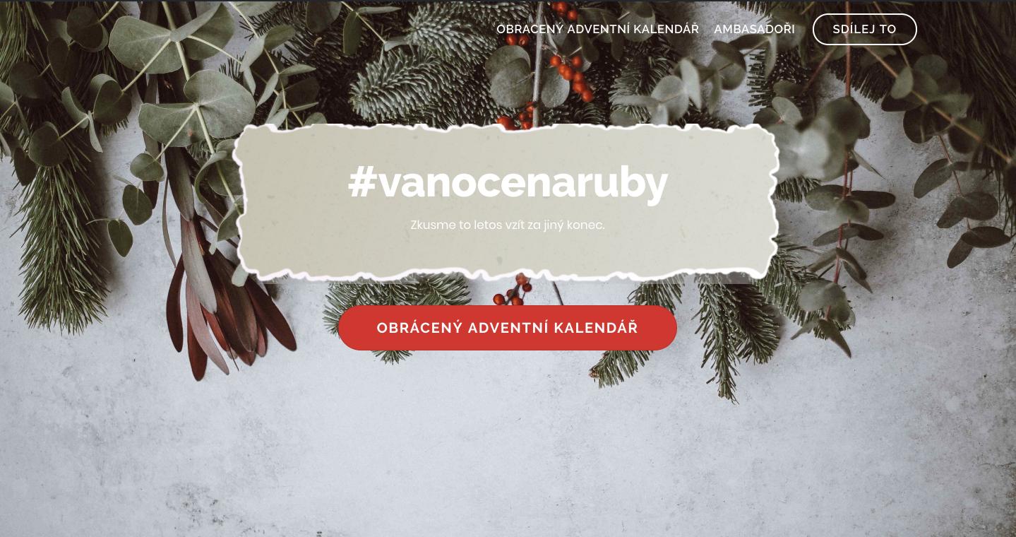 www.vanocenaruby.cz