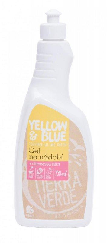 Yellow&Blue Gel na nádobí (750 ml) Z mýdlových ořechů v biokvalitě