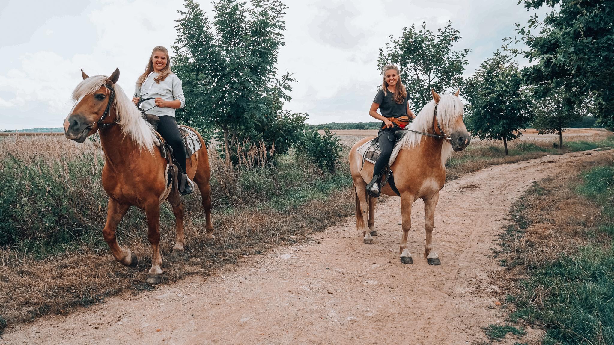 Štětice_Jízda na koních_Jižní Čechy