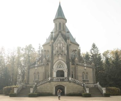TOP 10 INSTA places_Schwarzenberská hrobka_jižní Čechy_Weef